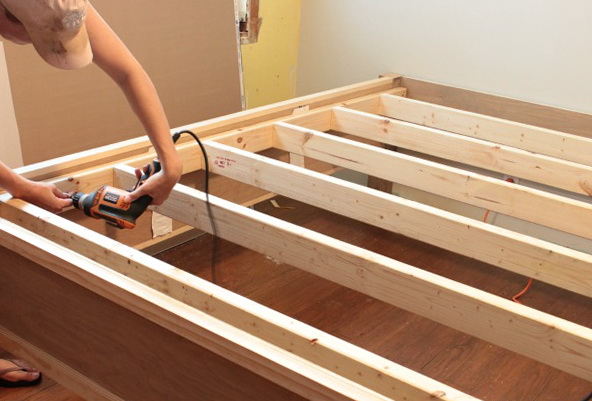 Diy High Bed Frame