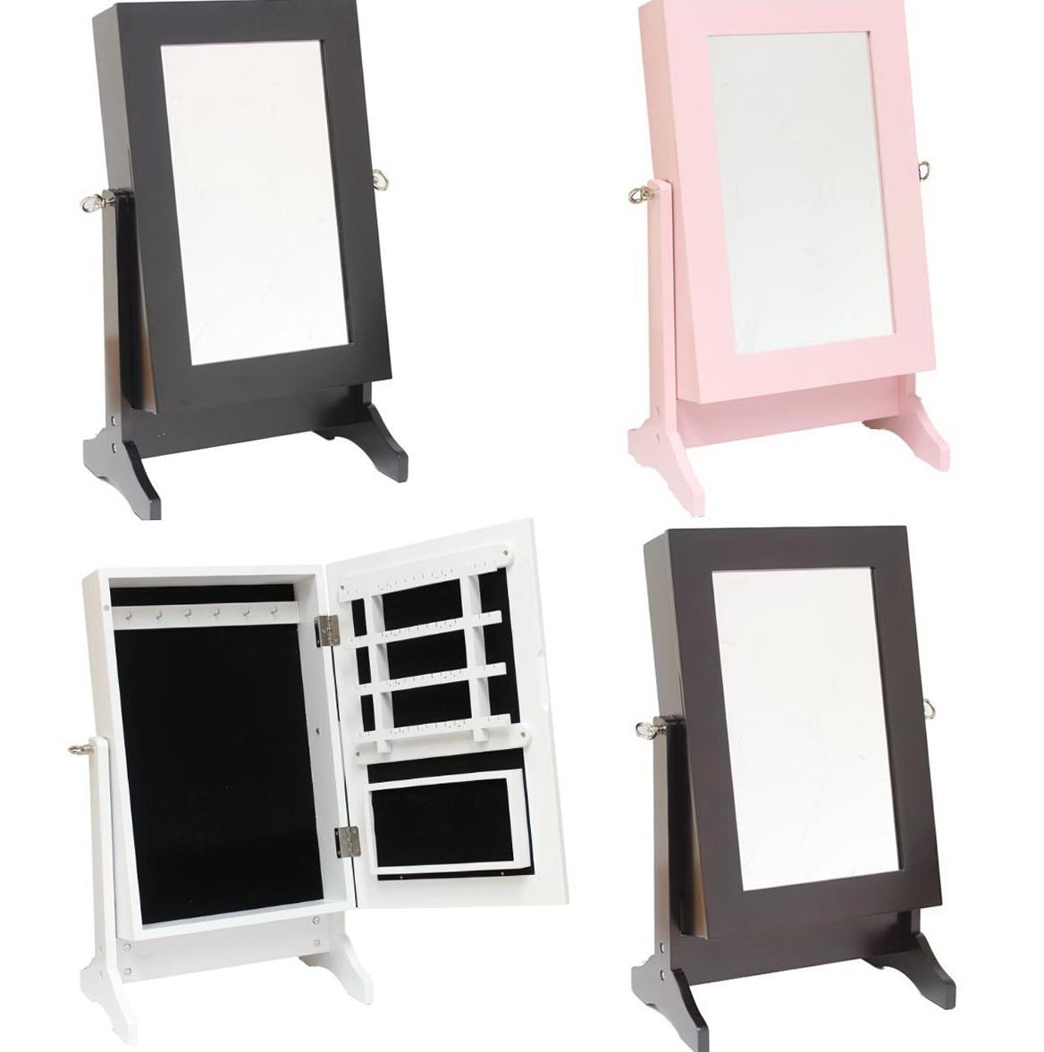 Diy Mirror Jewelry Cabinet