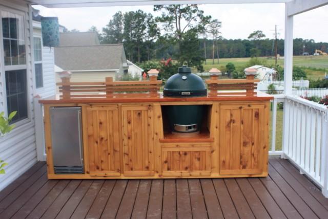 Diy Outdoor Kitchen On Deck