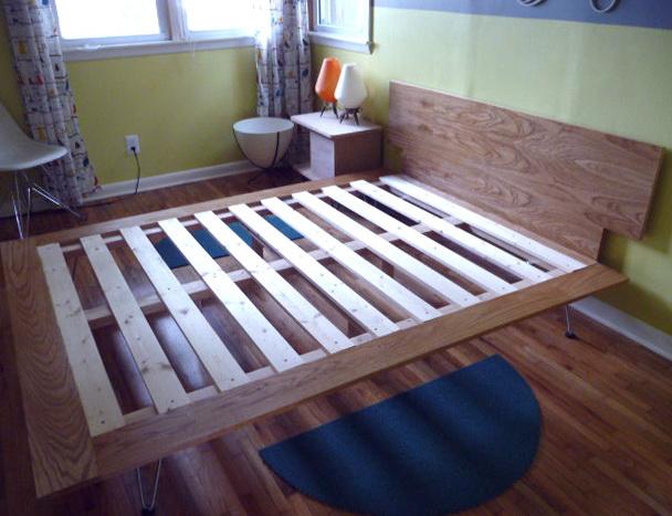 Diy Queen Size Platform Bed