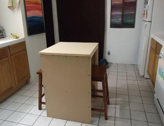 Diy Tall Kitchen Table