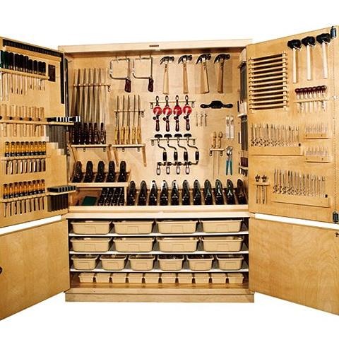 Diy Tool Storage Cabinets