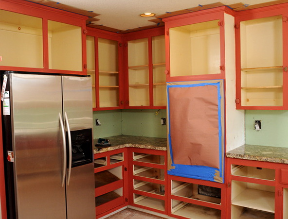 Diy Two Tone Kitchen Cabinets