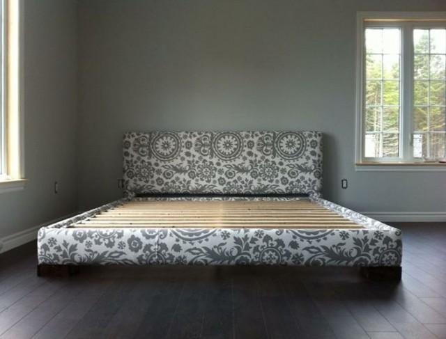 Diy Upholstered Bed Frame King
