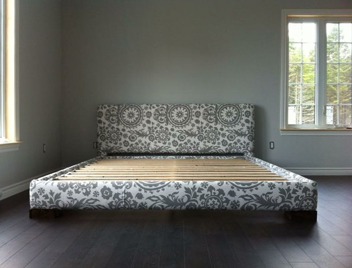Diy Upholstered Bed Frame King