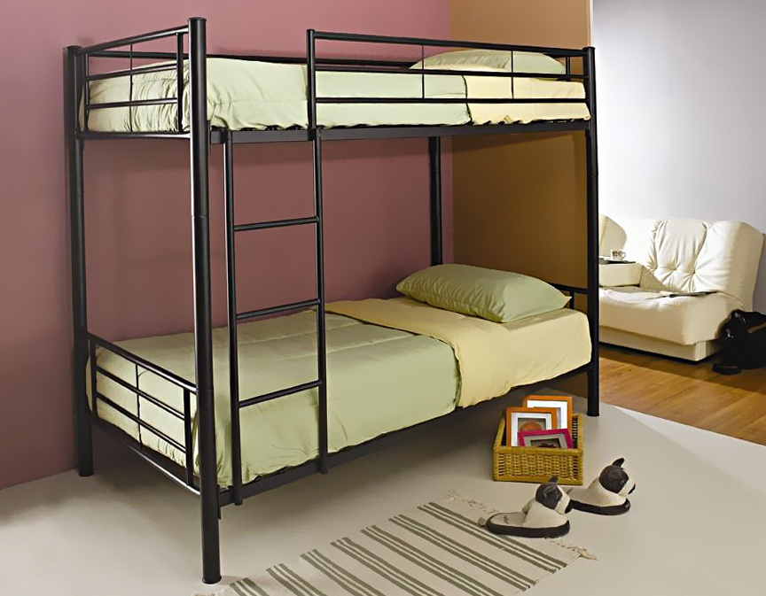 Double Bunk Beds Metal