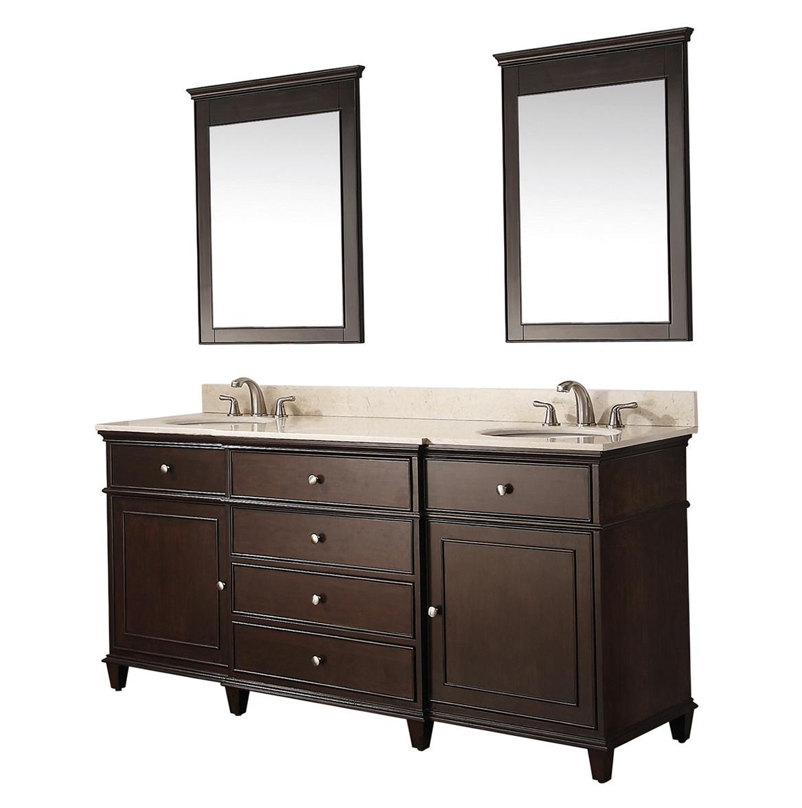 Double Sink Bathroom Vanity Dimensions