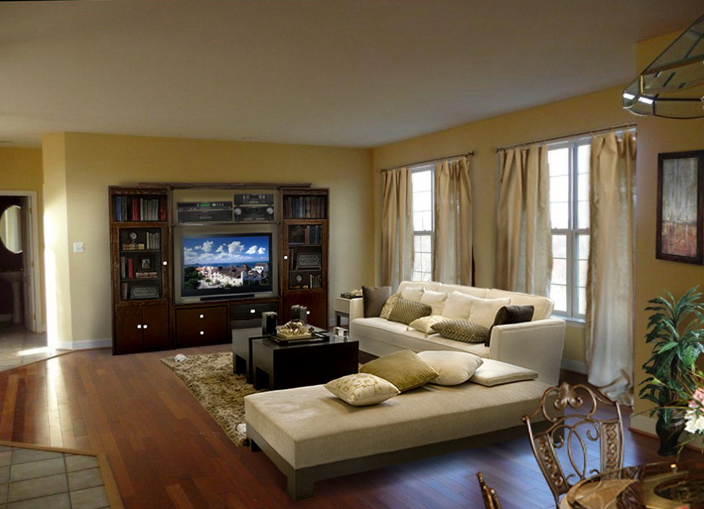 Family Room Design Layout