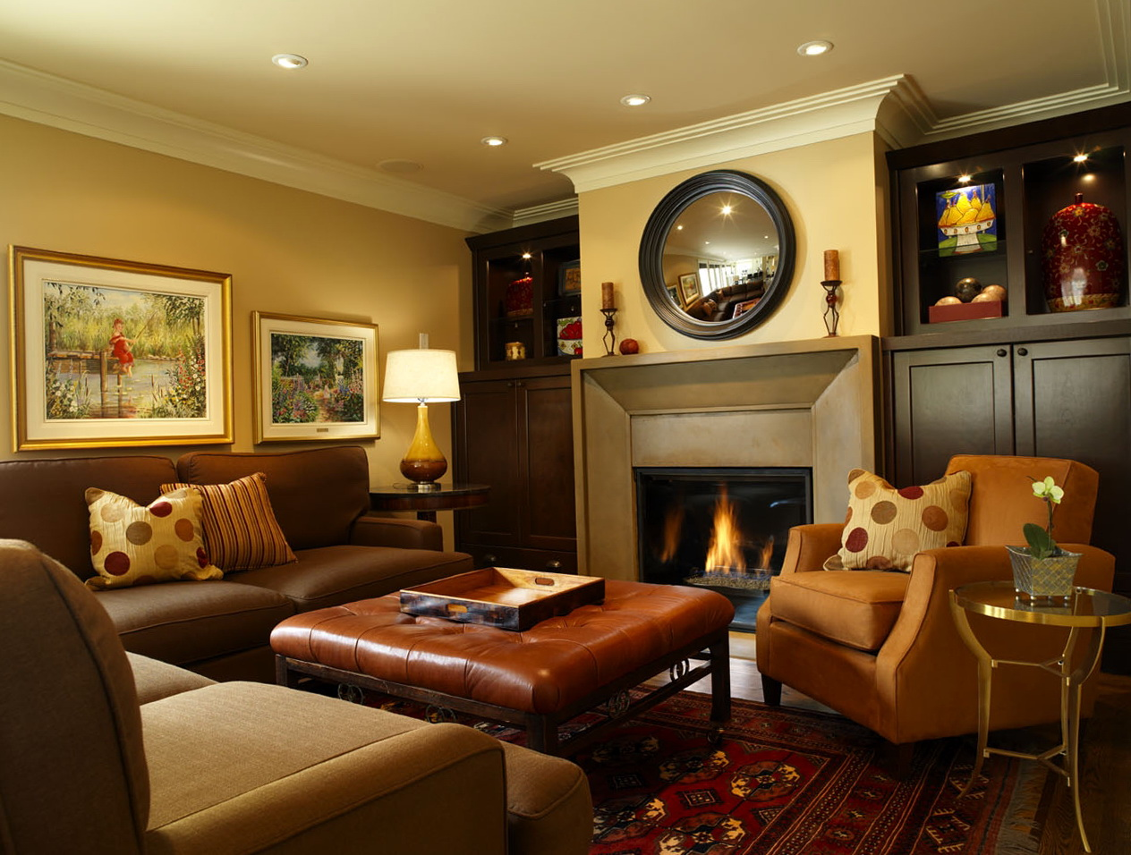 Family Room Design Photos