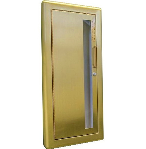 Fire Extinguisher Cabinets Semi Recessed