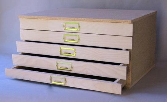 Flat File Cabinet Diy