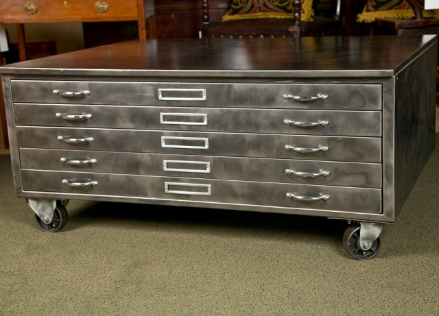 Flat File Cabinet For Sale