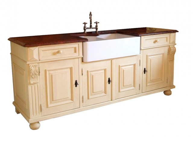 Free Standing Kitchen Cabinets Wood