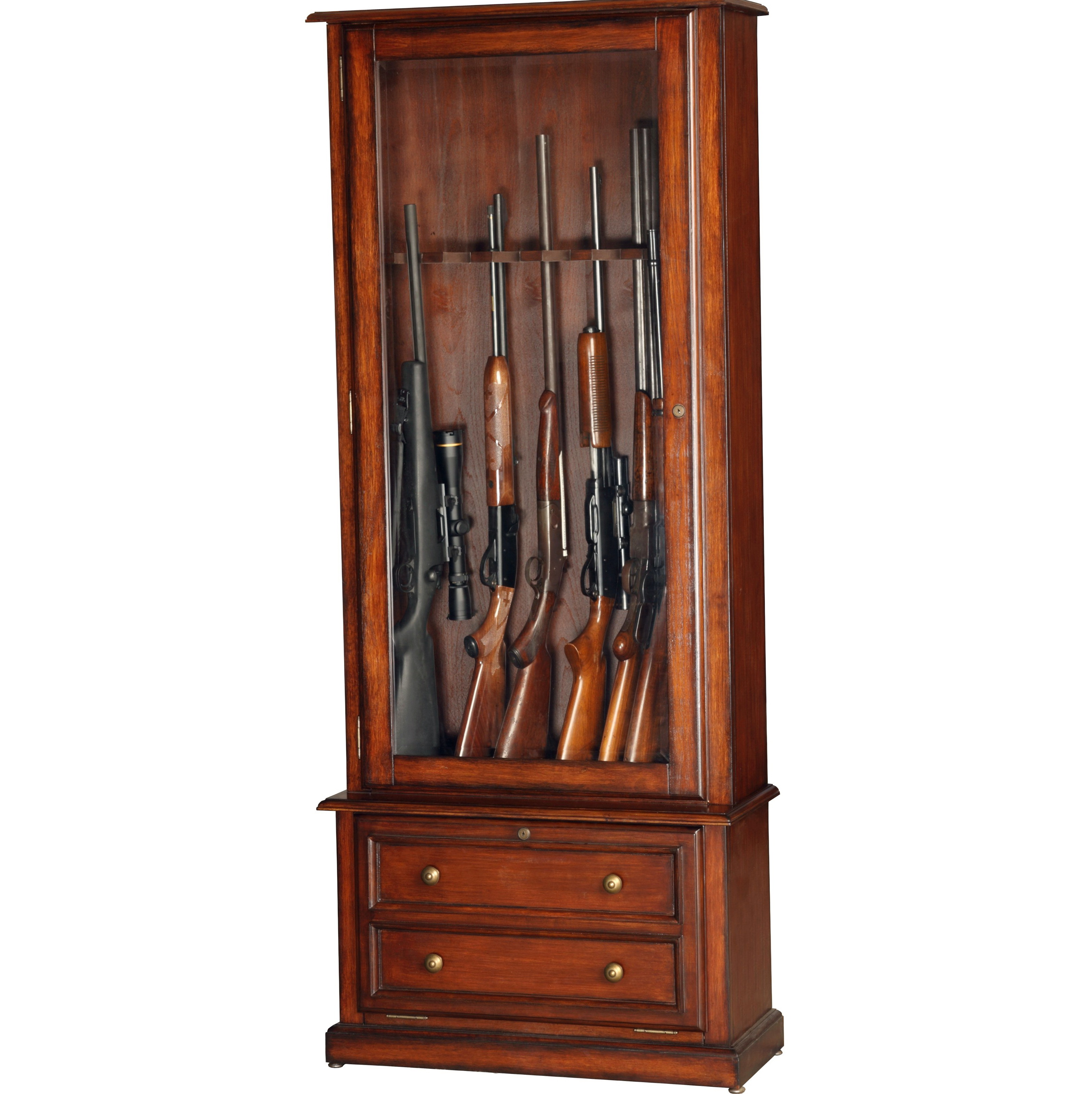 Free Wooden Gun Cabinet Plans
