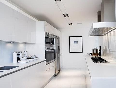 Galley Kitchen Designs White