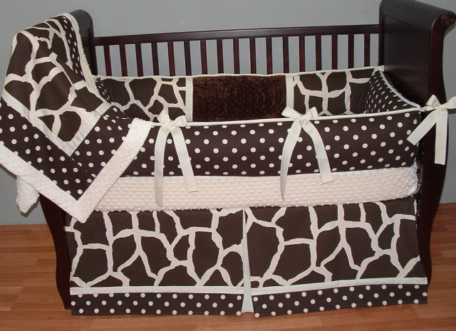 Giraffe Baby Bedding Sets