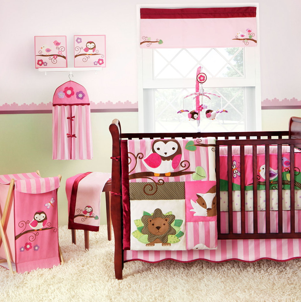 Girl Bedding Sets For Cribs