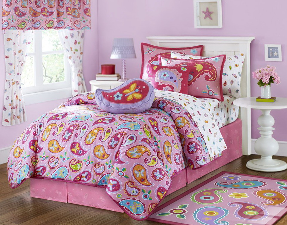 Girl Bedding Sets Full