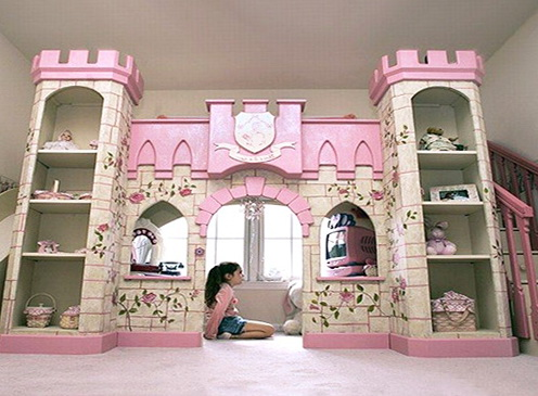 Girl Bunk Beds Castle