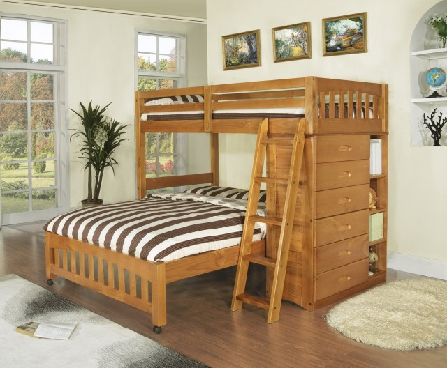 Girl Bunk Beds With Storage