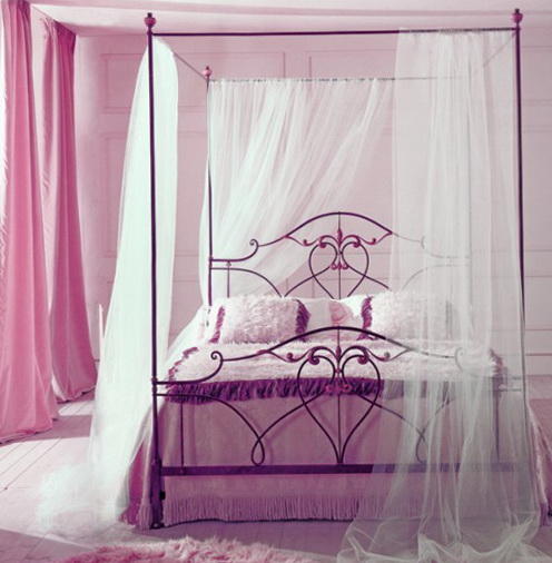 Girls Canopy Bed For Sale