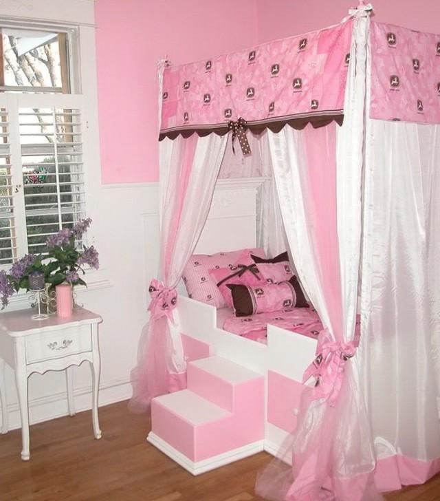Girls Canopy Beds Cheap