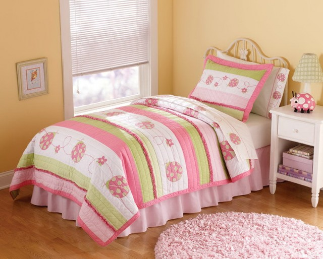 Girls Twin Bedspread