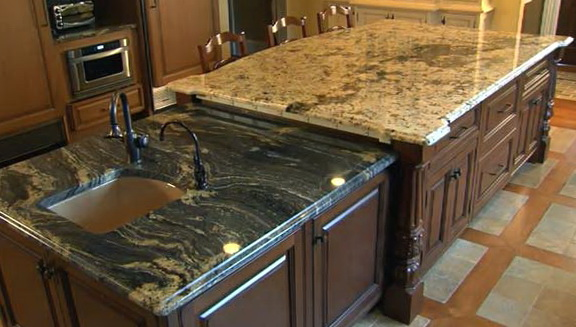 Granite Kitchen Countertops Colors