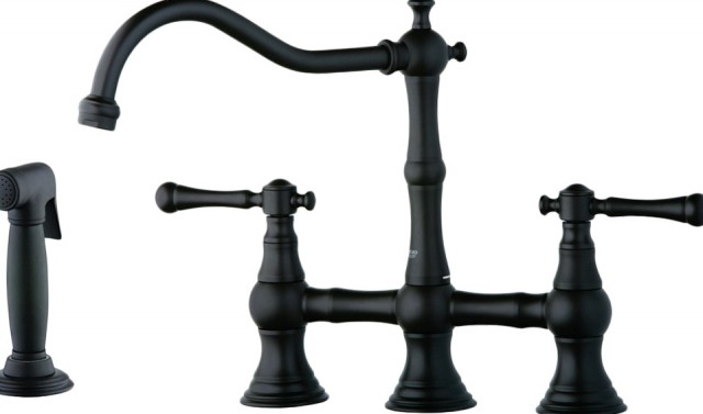 Grohe Oil Rubbed Bronze Kitchen Faucet