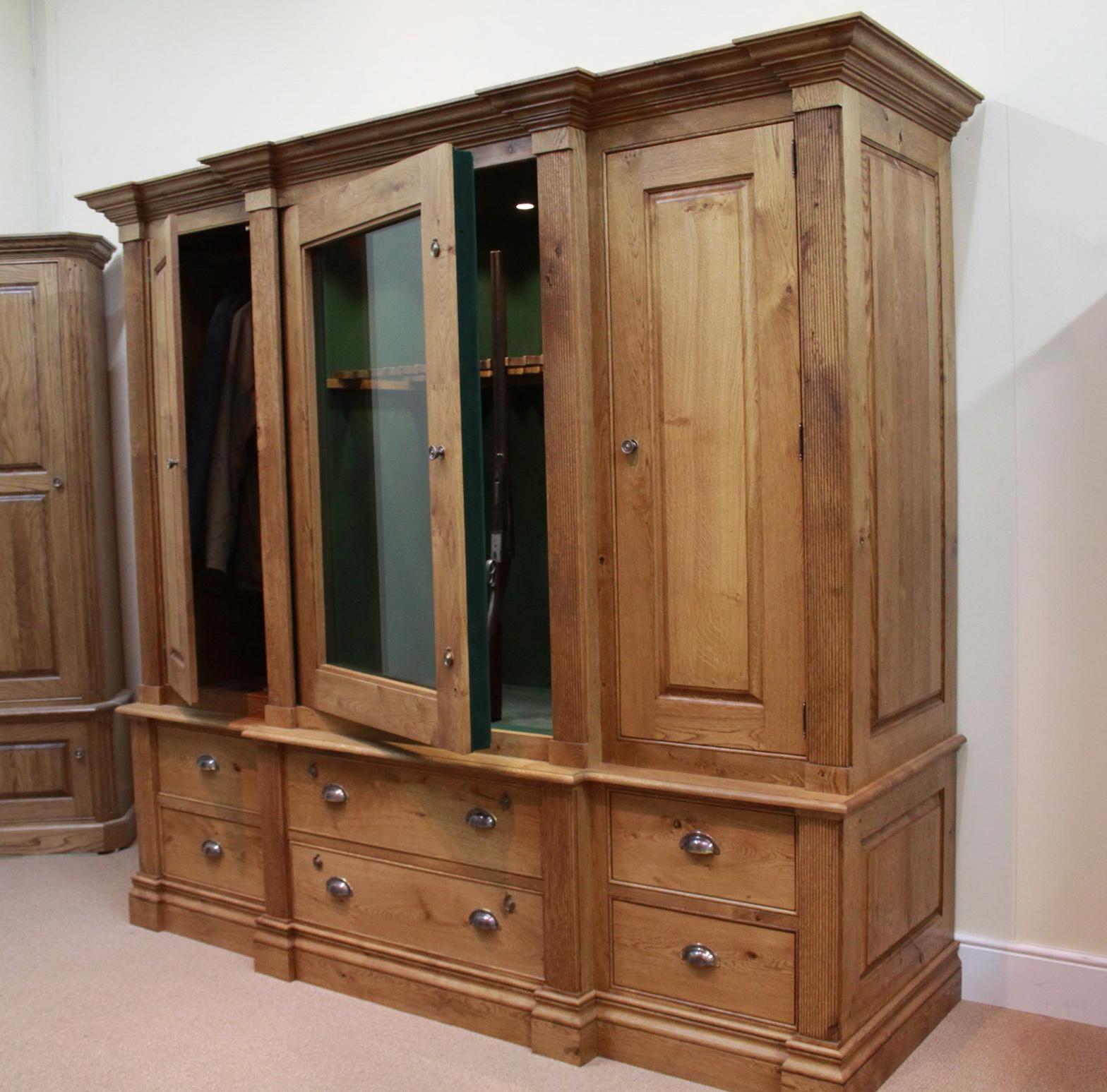 Hidden Gun Cabinet Bookcase
