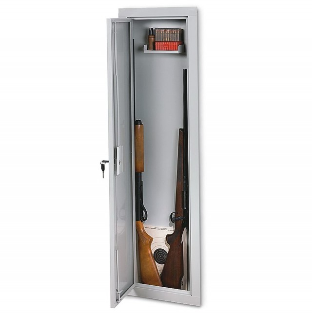 Hidden Gun Cabinet In Wall