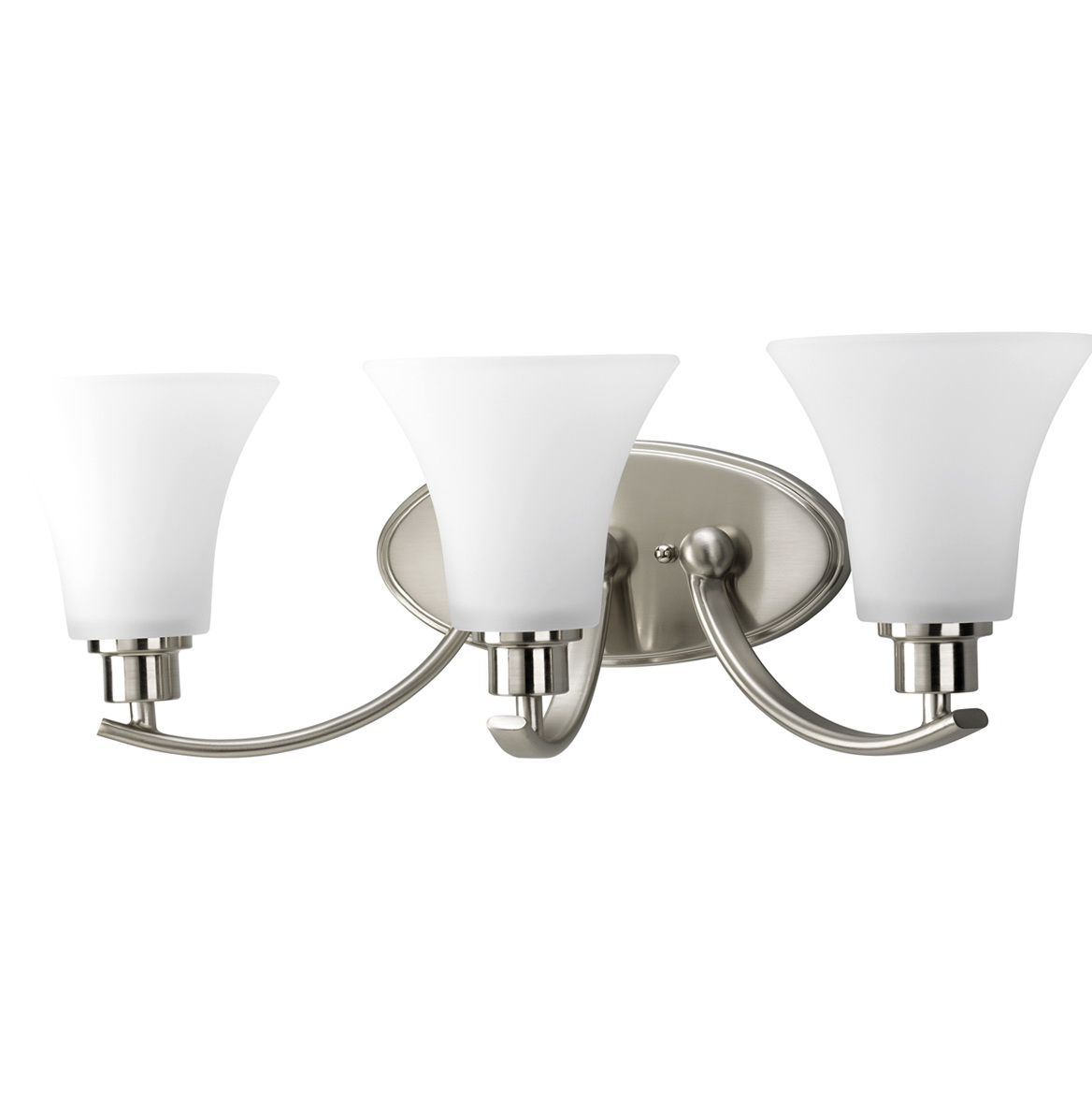 Home Depot Bathroom Lighting Brushed Nickel