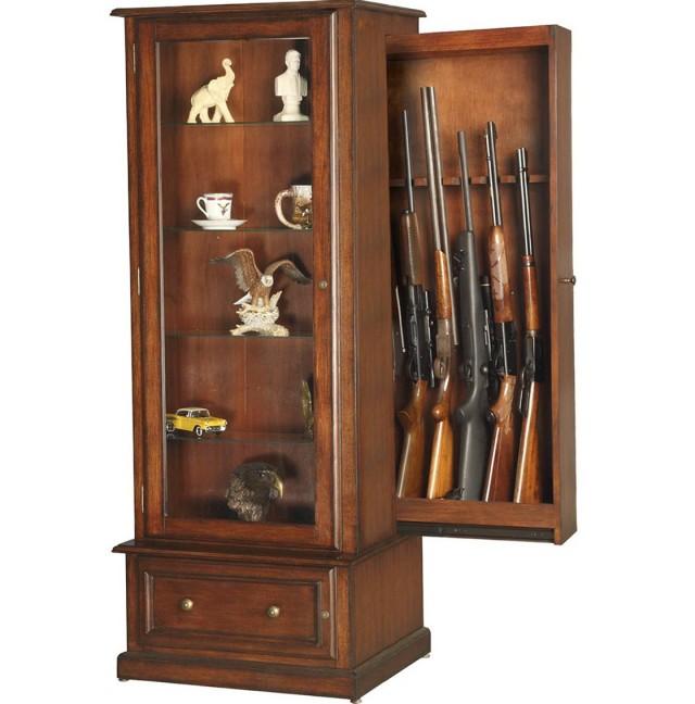 Homemade Gun Cabinet Plans