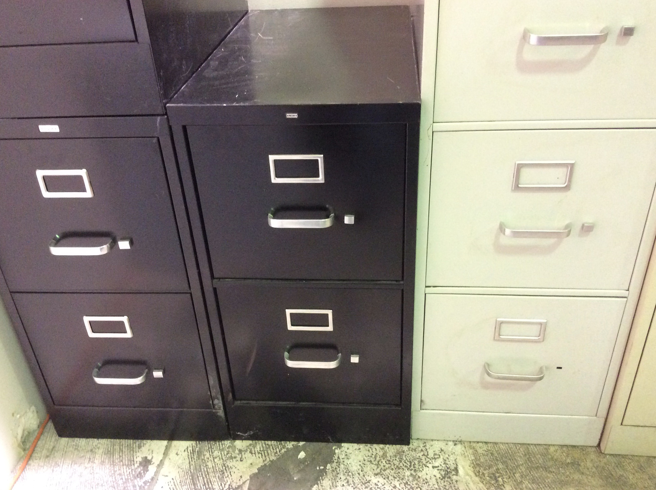 Hon File Cabinet Drawer Removal