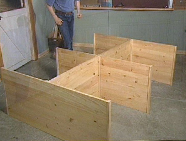 How To Build A Platform Bed With Drawers