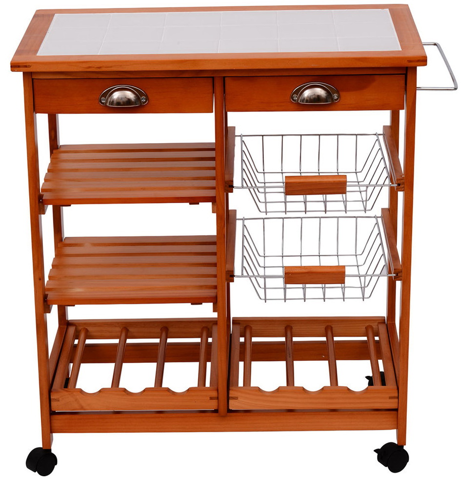 How To Build A Rolling Kitchen Island