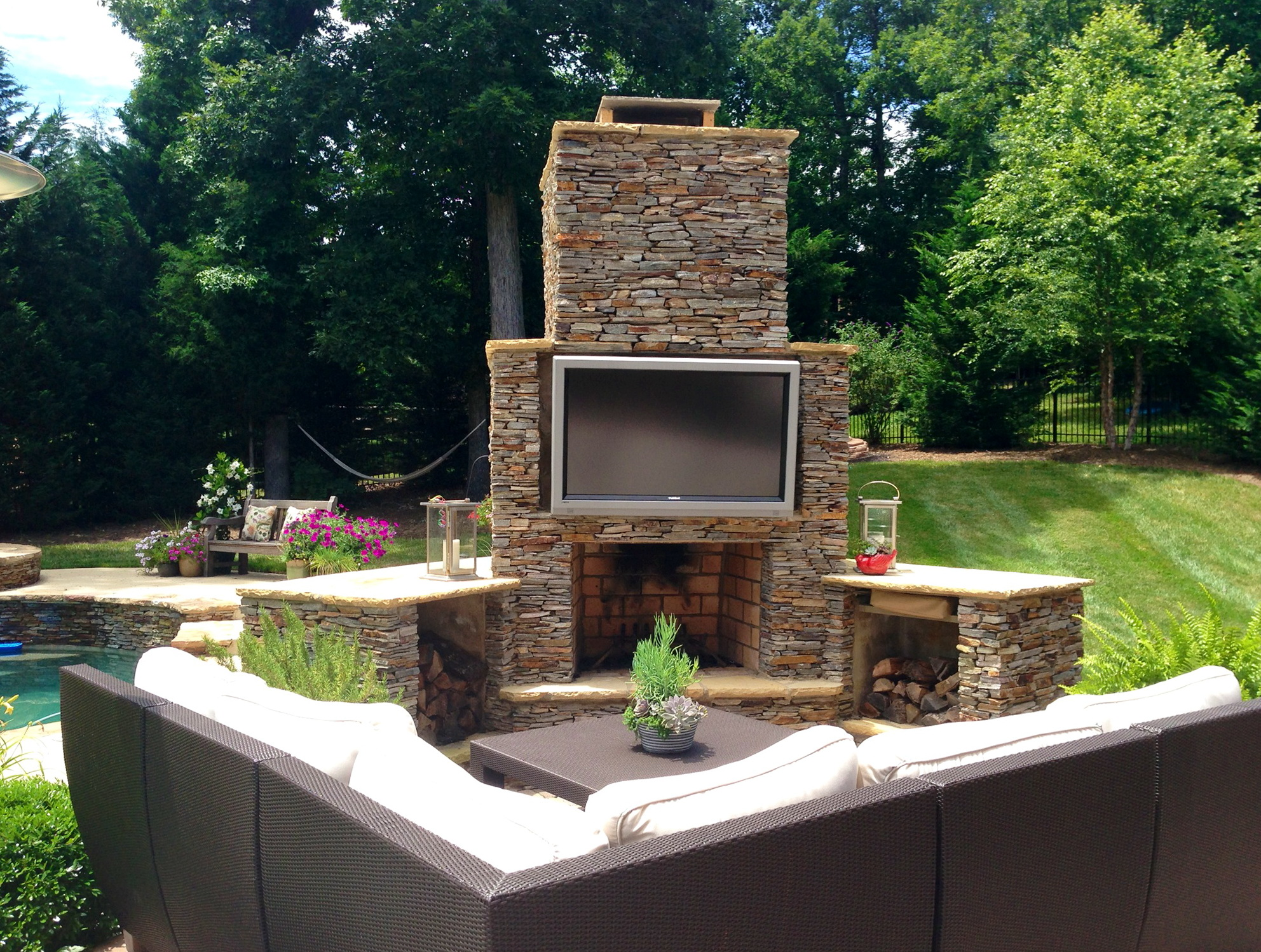 How To Build An Outdoor Tv Cabinet