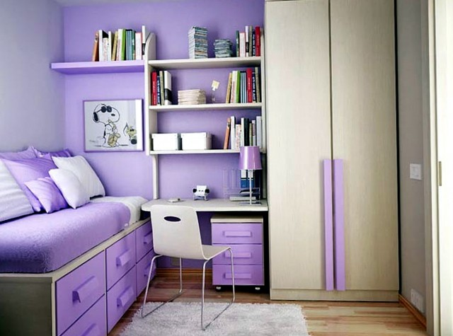 Ideas For Small Bedrooms For Teenage Girl