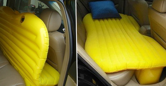 Inflatable Car Bed For Back Seat For Sale