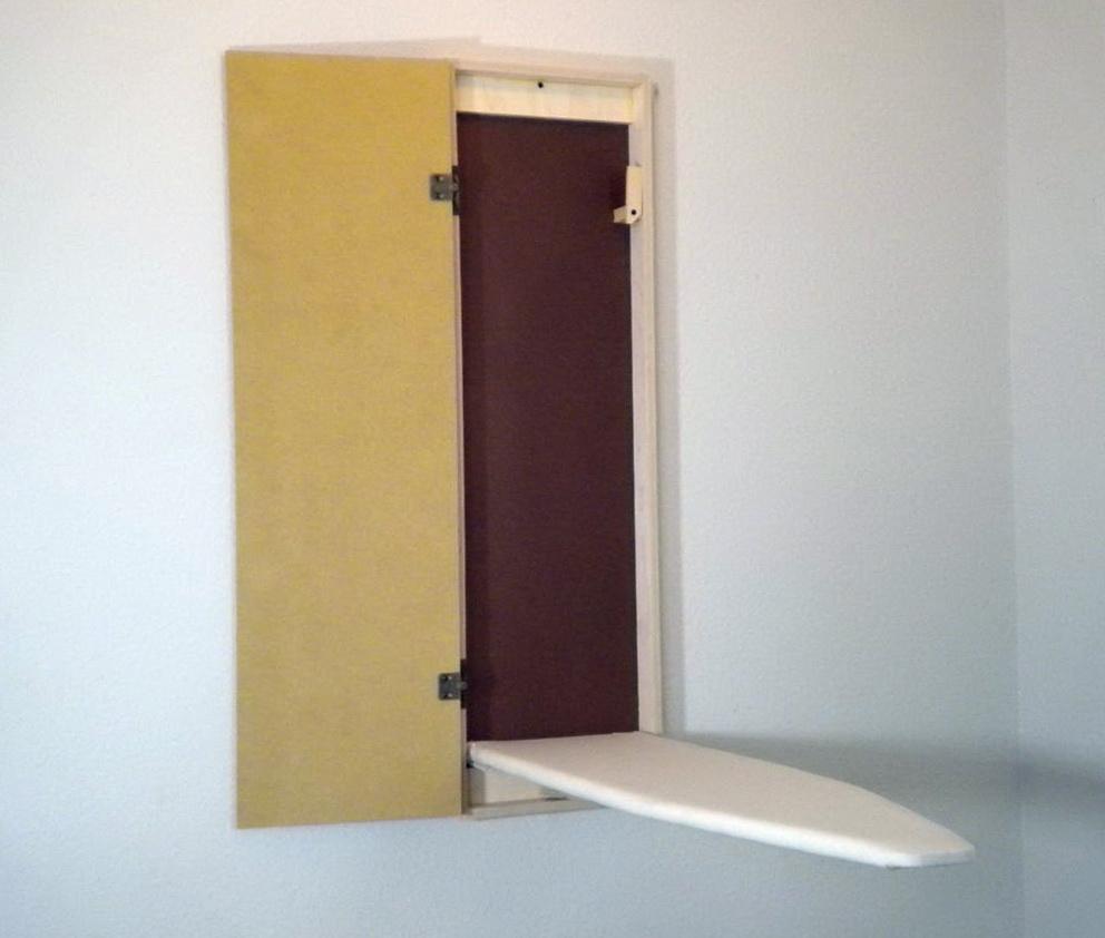 Ironing Board Cabinet Wall Mounted