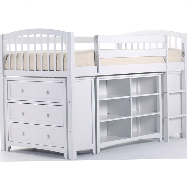 Junior Loft Bed White