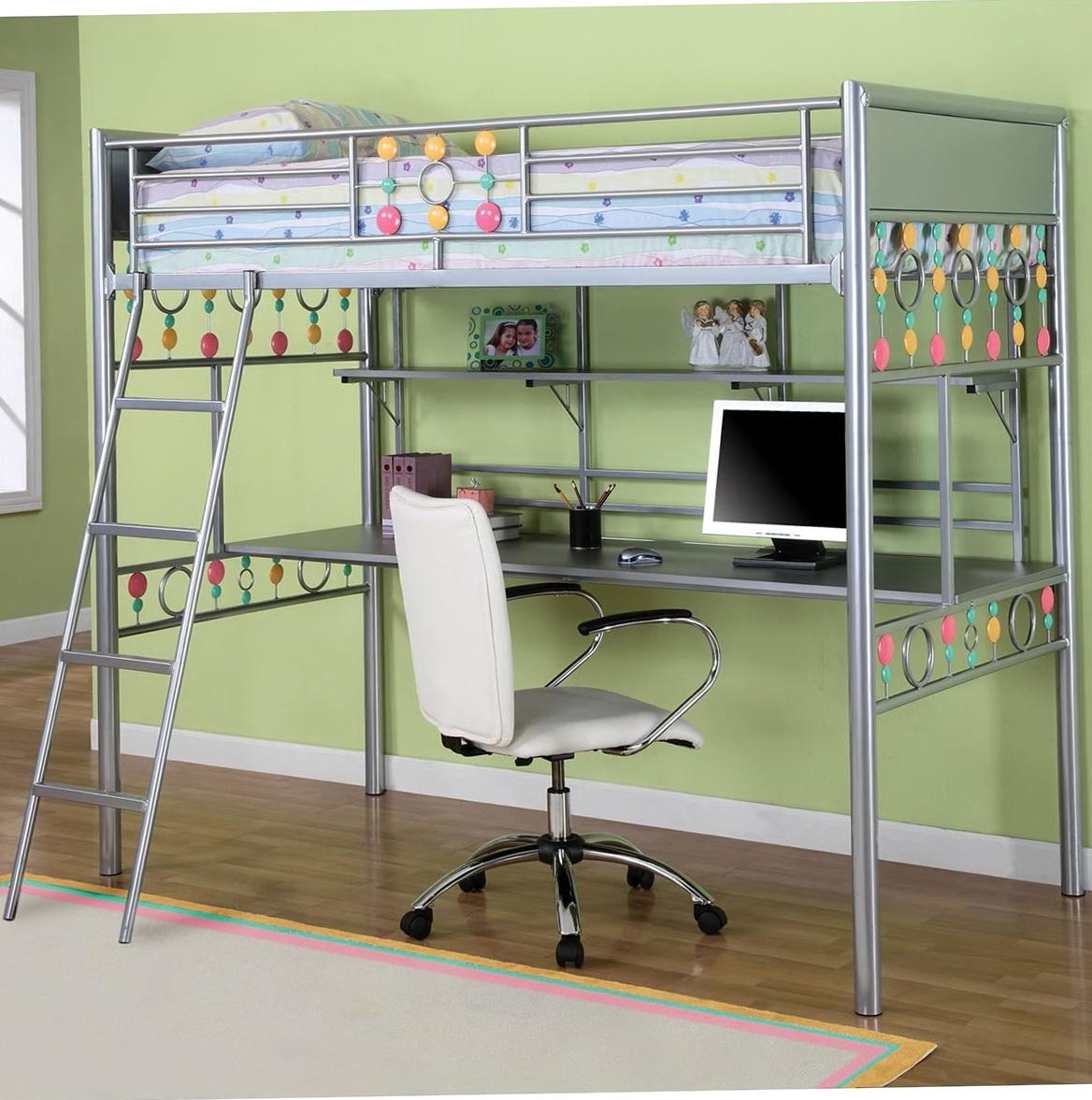 Kids Loft Beds With Desk 2