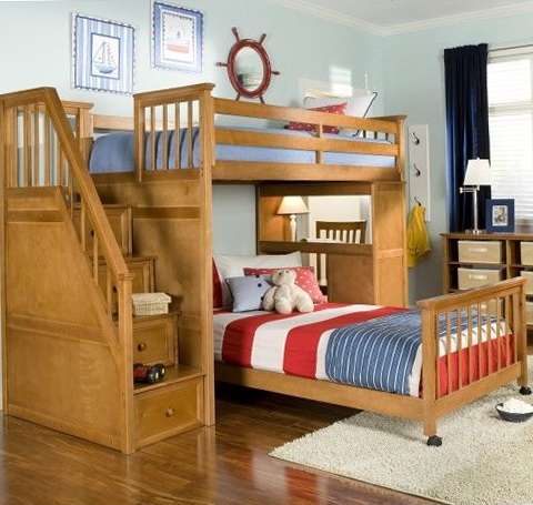 Kids Loft Beds With Stairs 2