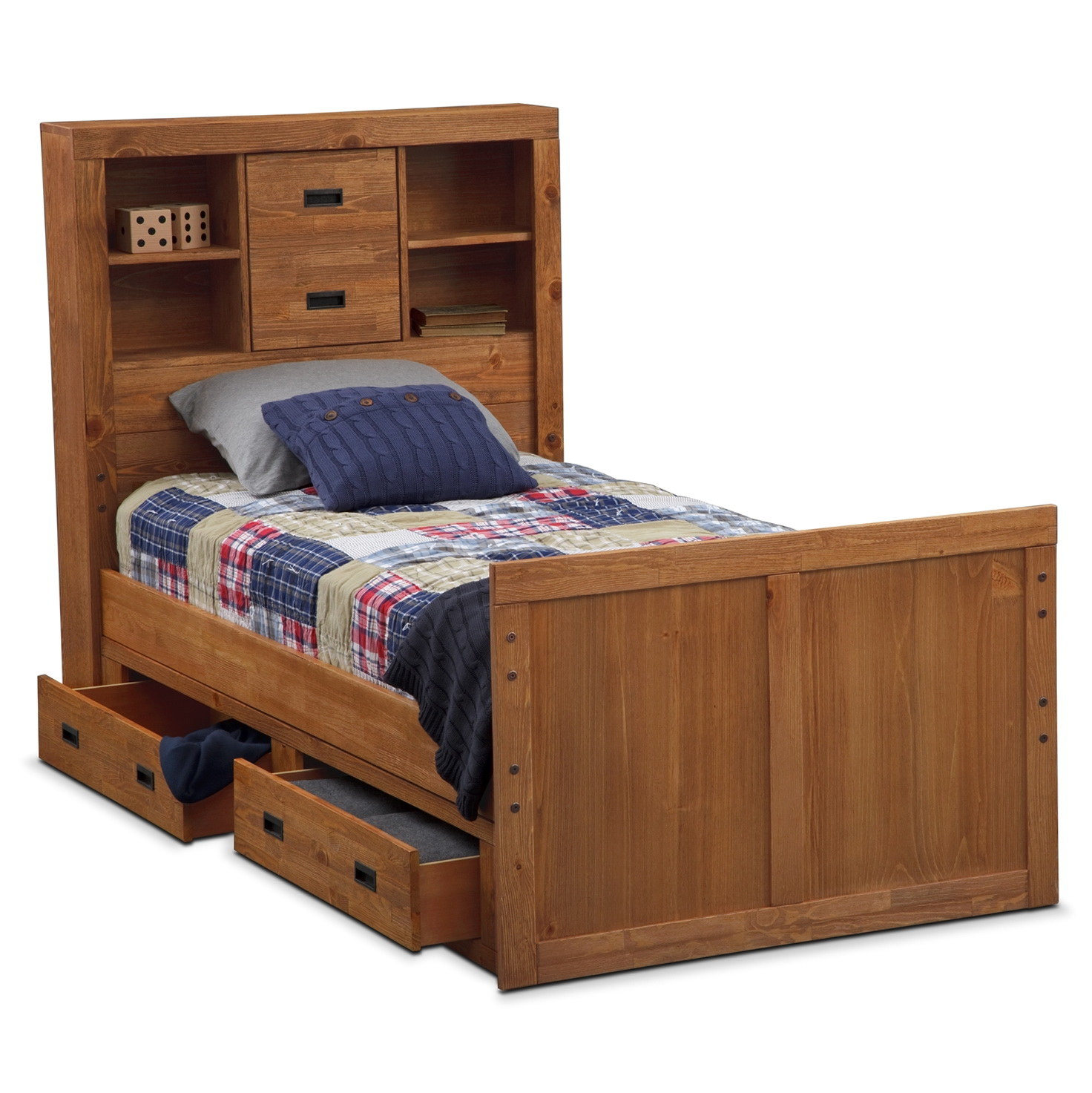 Kids Twin Beds With Storage