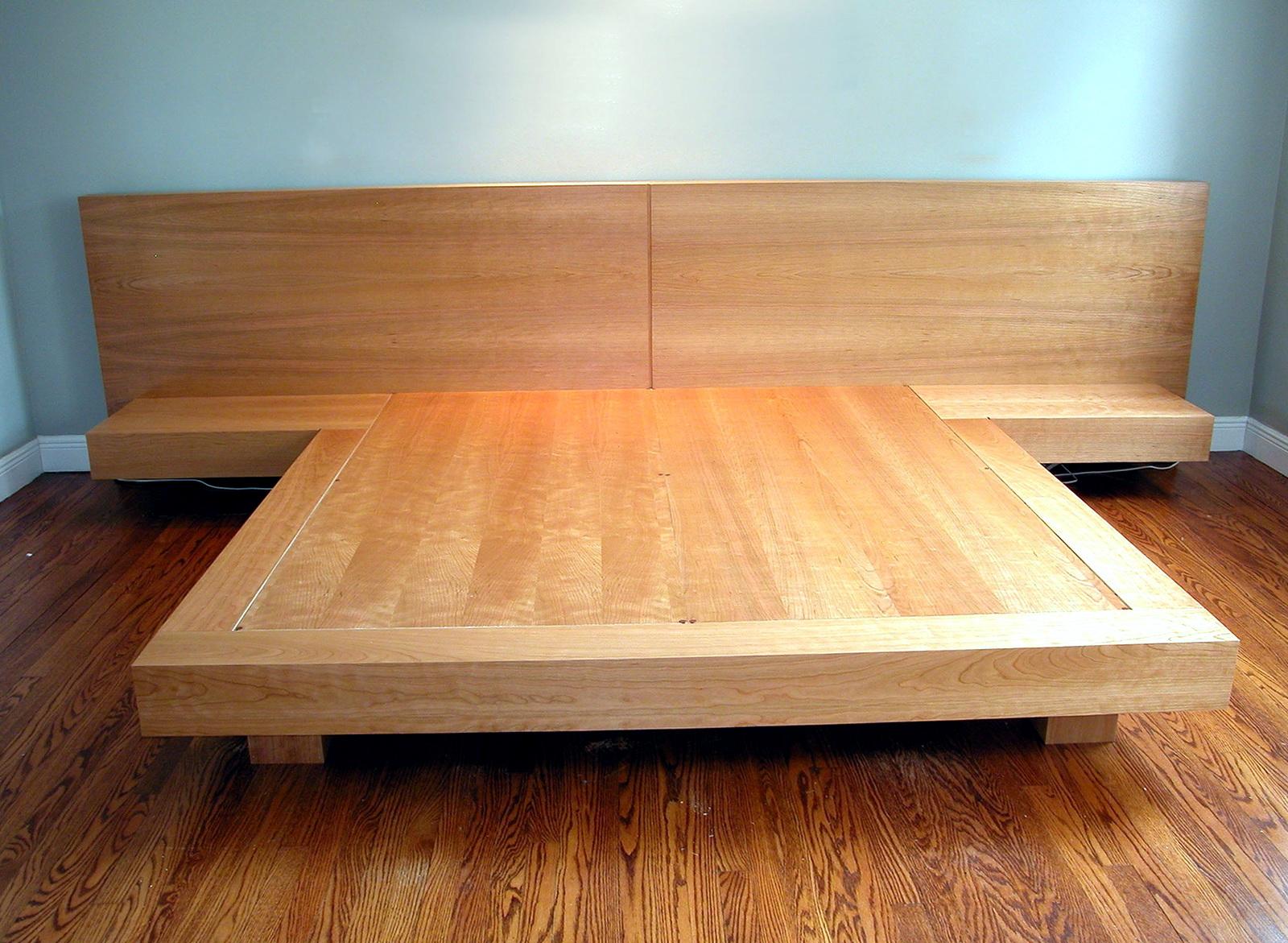 King Platform Bed Dimensions
