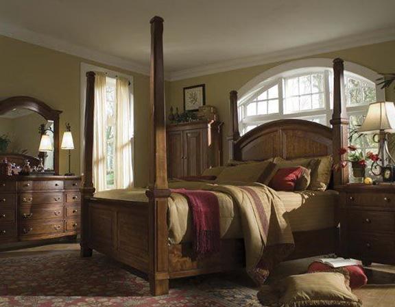 King Size Canopy Bedroom Set