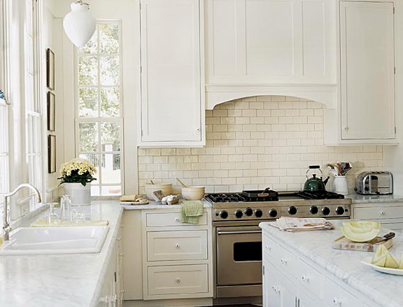Kitchen Backsplash Pictures Subway Tile