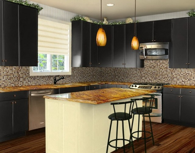 Kitchen Cabinet Colors Pictures