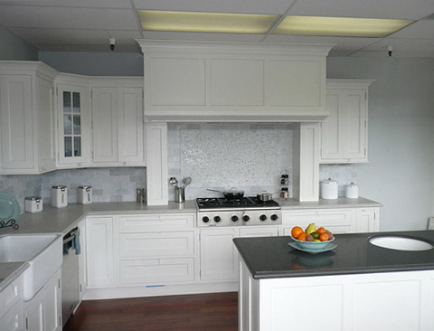 Kitchen Cabinet Colors With White Appliances