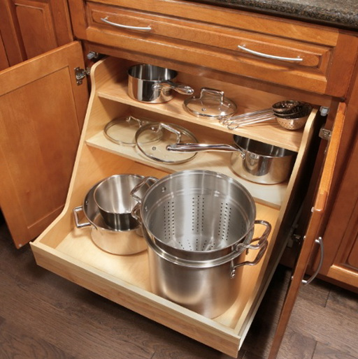 Kitchen Cabinet Organizers Pots And Pans